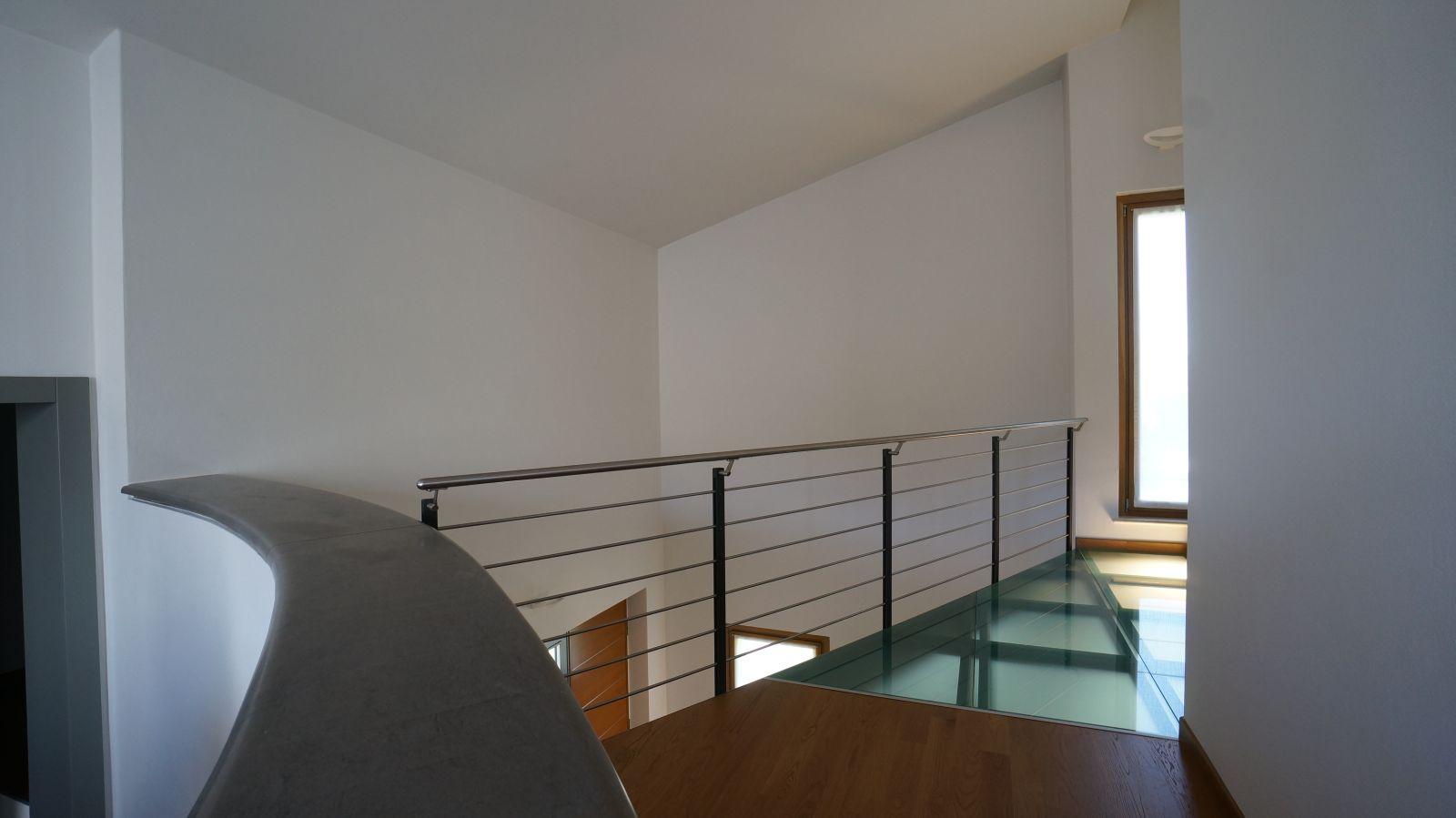 Bergamaschi serramenti ringhiere per scale interne - Scale con vetro ...